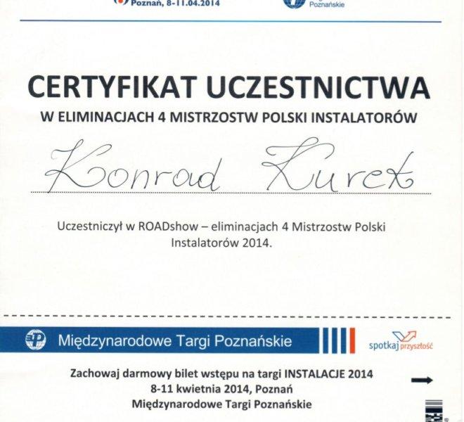 Vaillint - Certyfikat